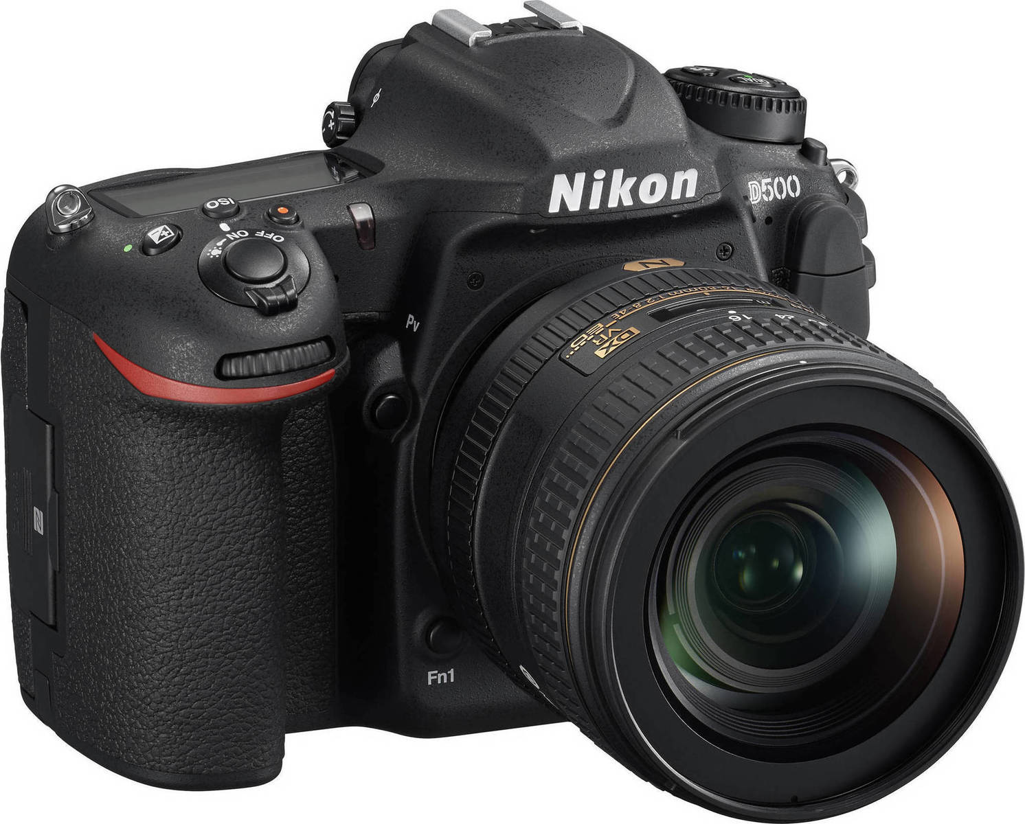 Nikon D500 kit 16-80mm f/2.8-4E ED VR, 20.9MPx, 4K UHD, In-Camera Time Lapse, Wi-Fi, Bluetooth, NFC