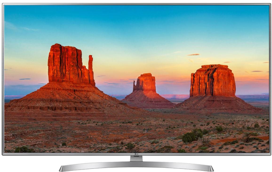"""Televizor 50"""" LED TV LG 50UK6950PLB, 4K, SMART TV, Silver"""