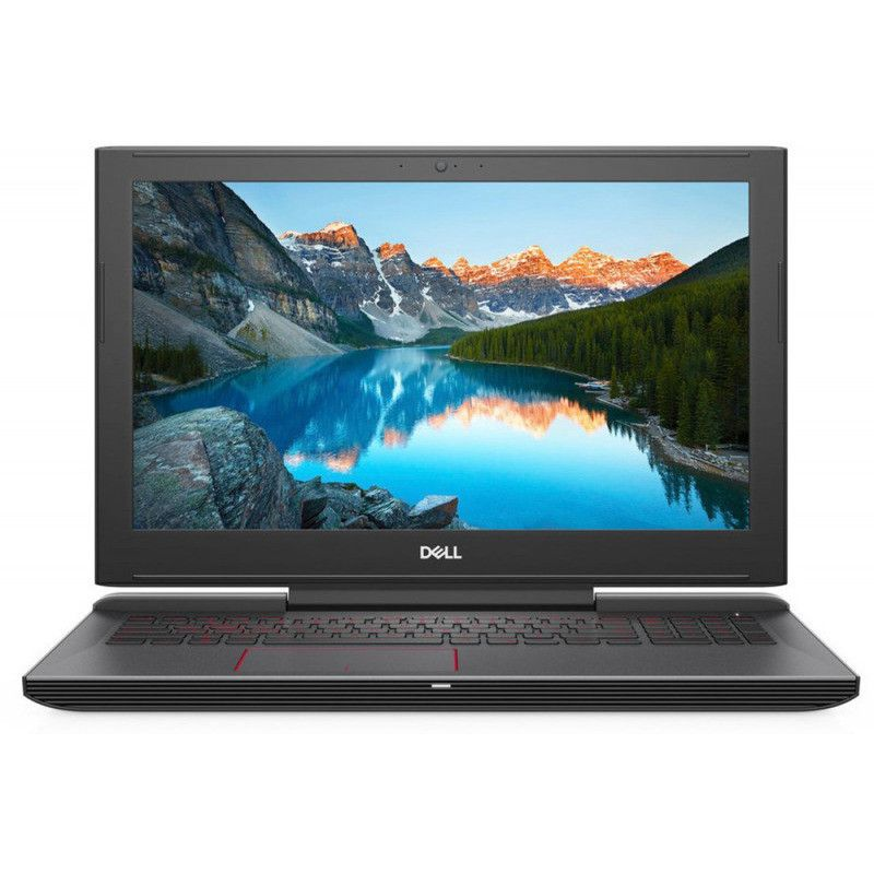 "Laptop DELL Inspiron Gaming 15 G5 (5587) iCore i7-8750H, 16Gb, 1Tb+256Gb, GeForce GTX1060 6Gb+HDMI, 15.6"" FHD, Backlit KB, Black"
