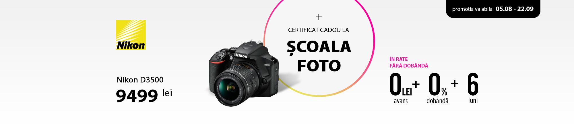 Nikon D3500 - Promo