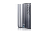"256Gb External SSD 2.5"", USB3.1, ADATA DashDrive SC660H, Titanium, 3D NAND TLC Flash, Shock-Resistant, Ultra-Slim 9.6mm"
