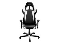 DXRacer  Formula OH/FH00/NW,Gamer weight 91kg / height 175cm,PU Cover-Black/Black/White,Gas Lift 4 Class,Tilt Mech-Angle 135*