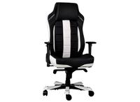 DXRacer Classic OH/CE120/NW, Gamer weight 136kg/height 190cm, PU Cover - Black/Black/White,Gas Lift 4Class,Tilt Mech-Angle 135* 1