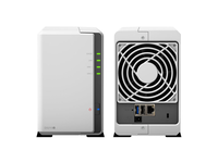 """Synology DS215j, NVR, 2-bay , support 2x3.5""""/2.5"""" HDD SATAII, CPU 800 MHz, Ram 512 MB, USB 2.0 x2, LAN Gigabit x1; iOS/Android, Cloud, HEE"""