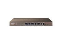 TP-Link TL-SL2428WEB, SmartSwitch 24-port 10/100Mbps, 2-port 10/100/1000Mbps, 2xSFP expansion slots