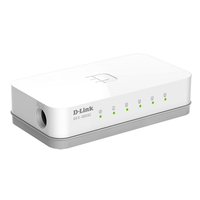 D-Link DES-1005C/A1A Fast Ethernet Switch 5-port UTP 10/100Mbps Auto-sensing, Stand-alone