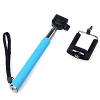 Selfie Stick Tellur Z07-5 Plus, Sky Blue,Plug and Play