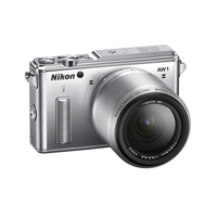 "Nikon 1 AW1 + 1 Nikkor AW 11-27.5mm Silver 14.2 Mpx, Full HD(1080p), RAW+JPEG, EXPEED 3A, PSAM, Hybrid autofocus, 3.0"" LCD"