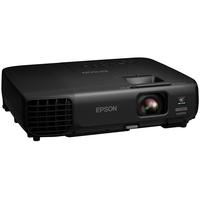 Projector Epson EB-W03 LCD WXGA, 1200х800, 10000:1,  2700 Lm, 5000hrs, HDMI, D-sub, S-video, USB, Speaker, Black