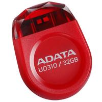 32Gb USB2.0 Flash Drive ADATA, DashDrive UD310, red (Read-18MB/s, Write-5MB/s), Jewell like
