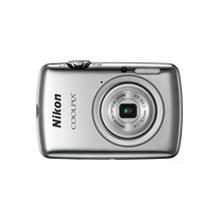 "CoolPix S01 10.1Mpix, 12x(3x optical, 4x Digital)zoom, 8Gb, 2.5"" LCD-sensor, HD-Video 720p(30fps), USB"
