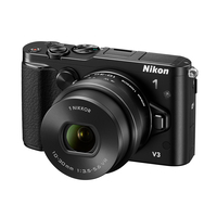 "Nikon 1 V3 BK Kit + 10-30mm PD-Zoom 14.20 Mpx, Full HD (1080p), RAW+JPEG, EXPEED 3A, PSAM, Hybrid autofocus, 3.0"" LCD"