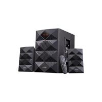 F&D A180X Black, 2x14W (3'), 14W subwoofer (5.25'), RMS 42W, 70dB