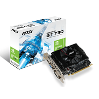 Video Card MSI GeForce GT 730 2GB