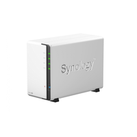 "Synology DS213air, NVR, 2-bay , support 1x3.5""/2.5"" HDD SATAII, CPU 1.6 GHz, Ram 256 MB, USB 3.0 x2, LAN Gigabit x1, WiFi; iOS/Android, Cloud, HEE"