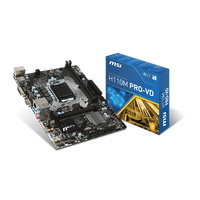 Motherboard MSI H110M PRO-VD S1151