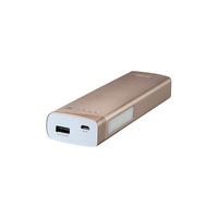 Power Bank F&D Lunar P2, 10400 mAh, Golden