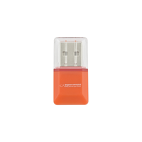 Card reader Esperanza EA134O Micro SDHC, USB 2.0, Orange