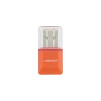 Card reader Esperanza EA134O Micro SDHC, USB 2.0, Orange