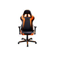 DXRacer  Formula OH/FH00/NO,Gamer weight 91kg / height 175cm, PU Cover-Black/Black/Orange, Gas Lift 4Class,Tilt Mech-Angle 135*