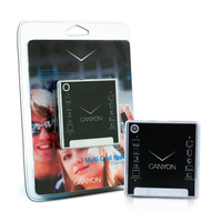 Card reader Canyon CNR-CARD05N CF/MS/MS-PRO/MS-PRO-HG Duo/MMC/SD/xD-Picture, USB 2.0, Black