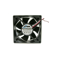 Кулер RUILIAN RDM8025S 2-Pin Fan 80x80x25 mm DC 12V 0.11A Speed 2500 RPM Noise 29 dBA 2-Pin connector.