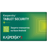 Kaspersky Tablet Security Card 01 Base 1 year