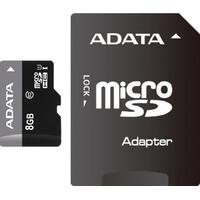 8Gb Premier microSDHC ADATA UHS-I, Class10
