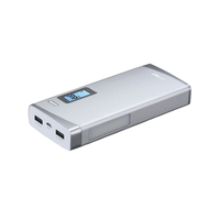 Power Bank F&D Lunar P3, 13000 mAh, Silver