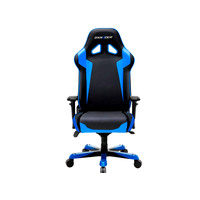 DXRacer Sentinel OH/SJ00/NB, Gamer weight 159kg / height 195cm,PU Cover - Black/Black/Blue, Gas Lift 4Class,Tilt Mech-Angle 120*