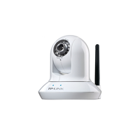 "TP-Link TL-SC4171G, 0.3Mpixel Pan/Tilt Wireless Day/Night Surveillance Camera, 1/4""CMOS, F2.0, 10x digital zoom, 640x480, MJPEG/MPEG-4 video compressi"