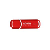 32Gb USB3.0 Flash Drive ADATA, DashDrive UV150, red  (Read-90MB/s, Write-20MB/s), SmarterDesign