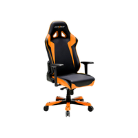 DXRacer Sentinel OH/SJ00/NO, Gamer weight 159kg/height 195cm,PU Cover - Black/Black/Orange,Gas Lift 4Class,Tilt Mech-Angle 120*