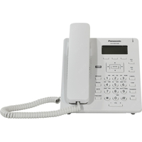 Panasonic KX-HDV100RU, White, SIP phone