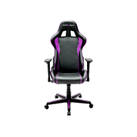 DXRacer Formula OH/FH08/NP, Gamer weight 91kg / height 175cm,PU Cover-Black/Black/Purple, Gas Lift 4 Class, Tilt Mech-Angle 135*