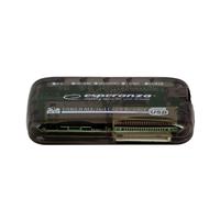 Card Reader All-in-1 Esperanza EA117, Black, USB2.0