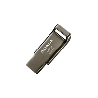 32Gb USB3.0 Flash Drive ADATA, DashDrive UV131, grey (Read-100/s, Write-50MB/s), Metal Case, Chromium Grey