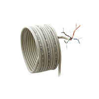 Cable UTP Cat.5E, 305m, CCA,24awg 4X2X1/0.47, solid gray, APC Electronic