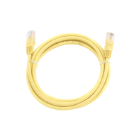 PP12-3M/Y  UTP Patch cord cat.5E,  3m    (Yellow)