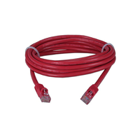 PP12-5M/R  UTP Patch cord cat.5E,  5m    (Red)