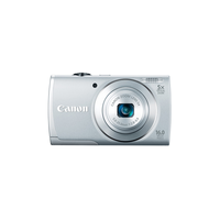 "Canon PS A2600 Silver, 16Mpix, Zoom5x,28-140,CCD1/2.3,Digic4, f/2.8 – f/6.9, ViewS3"",Li-Ion"