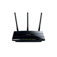 TP-Link TL-WDR4900, DualBand Wireless Gigabit Router 4-port 10/100/1000Mbit, 2.4GHz up to 450Mbps/5GHz up to 450Mbps, 2xUSB, 3xDetachable Antena