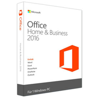 Office Home and Business 2016 32/64 English CEE Only DVD