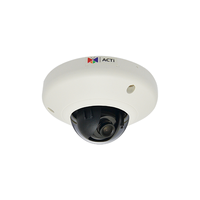 "ACTi E92, 3.0Mpixel PoE Indoor miniDome Surveillance Camera, 1/3.2"" CMOS, F2.0, 2048x1536, MicroSD/SDHC/H.264,MJPEG/HP video compression, Pan/Tilt Int"