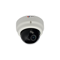 "ACTi D61, 1.3Mpixel PoE Indoor Dome Vari-Focal  Surveillance Camera, 1/3.2"" CMOS, F1.4, 1280x720, MicroSD/SDHC/H.264,MJPEG/HP video compression"