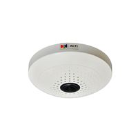 "ACTi B55, 10.0Mpixel PoE Indoor miniFisheye Dome Surveillance Camera w/Basic WDR/D&N, 1/2.3"" CMOS, F2.0, 3648x2736, MicroSD/SDHC/H.264,MJPEG/HP video"