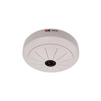 "ACTi KCM-3911, 4.0Mpixel PoE Indoor Hemispheric Fisheye Dome ePTZ Surveillance Camera w/SLLS/Basic WDR/D&N, 1/2.5"" CMOS, F2.8, 2032x1920, MicroSD/SDHC"