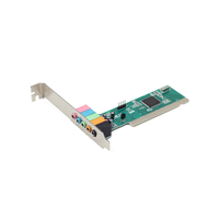 Gembird SC-5.1-3,  5.1 channels Sound Card, C-media CMI8738