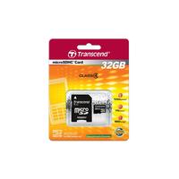 32Gb microSDHC Transcend Class4