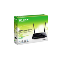 TP-Link TL-WDR3500, DualBand Wireless Router 4-port 10/100Mbit, 300Mbps/2.4GHz/5GHz, Atheros, 1xUSB, 2xDetachable Antena